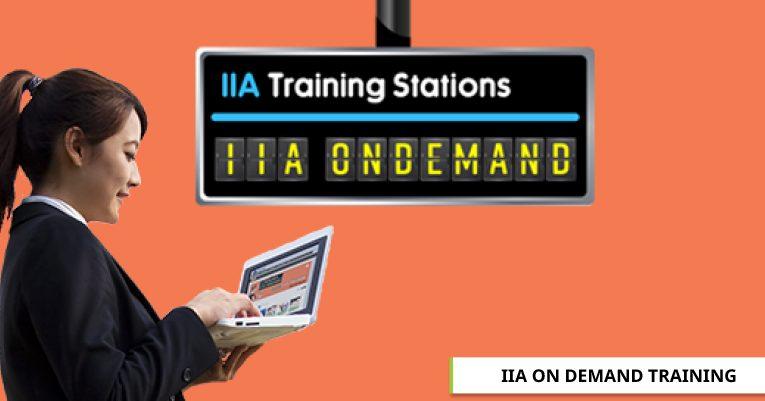 IIA ON DEMAND TRAINING
