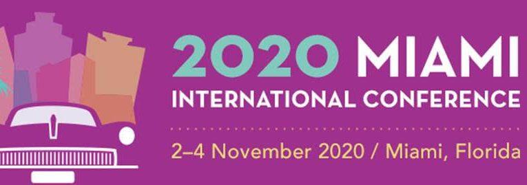 La Conférence Internationale 2020 à Miami est reportée au 02 novembre 2020