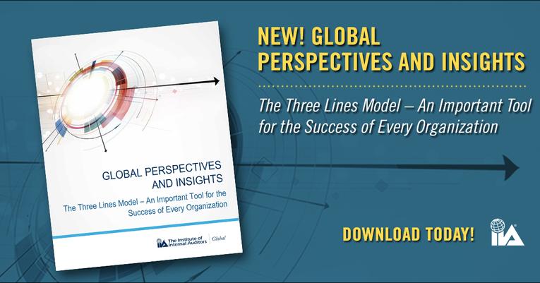 Global Perspectives: Le Modèle des Trois Lignes, un outil essentiel à la réussite de chaque organisation